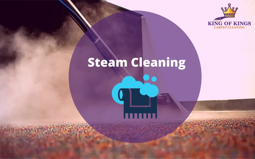 Carpet Steam Cleaning -King of Carpet